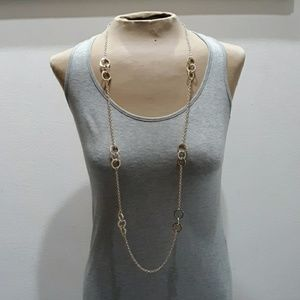 Banana Republic Triple Circle Necklace